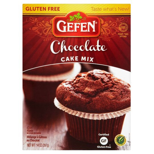 Gefen Chocolate Cake Mix Gluten Free 397G