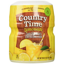 Country Time Lemonade Mix 583g