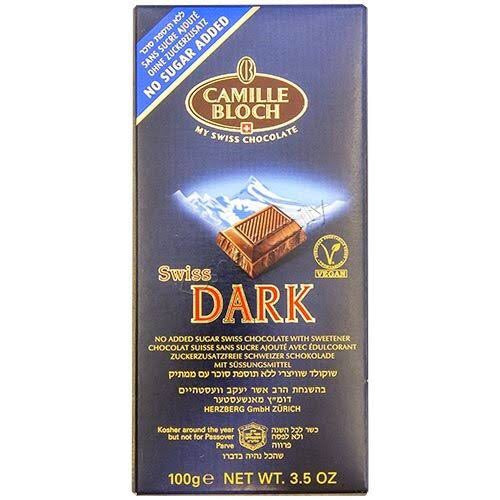 Camille Bloch Sugar Free Swiss Dark Chocolate 100G