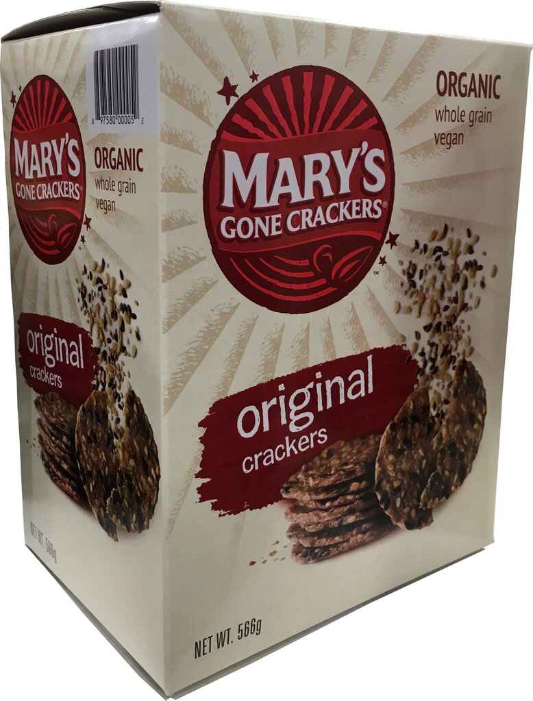 Mary's Gone Crackers Organic Crackers Original 566g