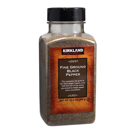 Kirkland Signature Fine Ground Black Pepper 348g