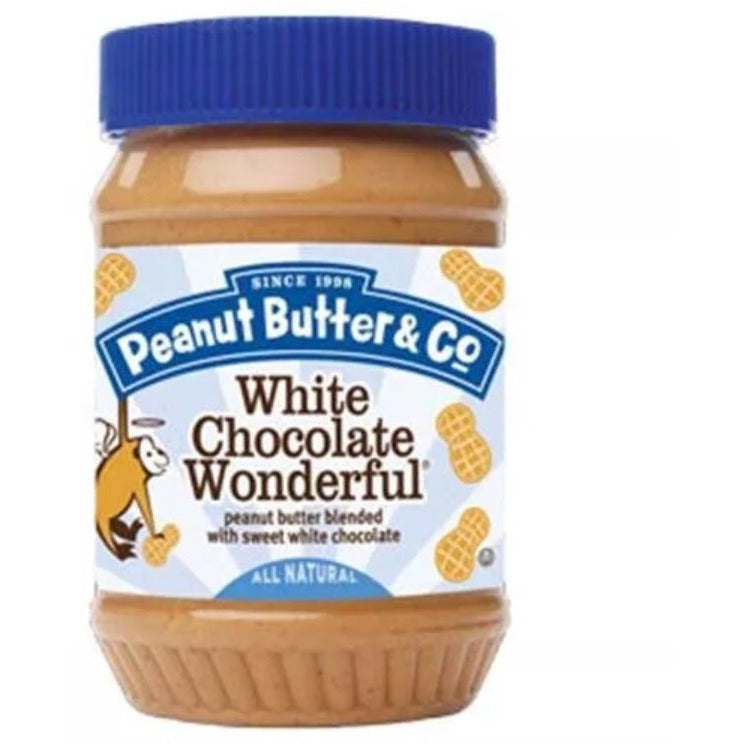 Peanut Butter & Co. White Chocolate Wonderful 454gr