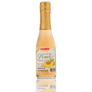 Kedem Sparkling Peach Grape Juice 187ml