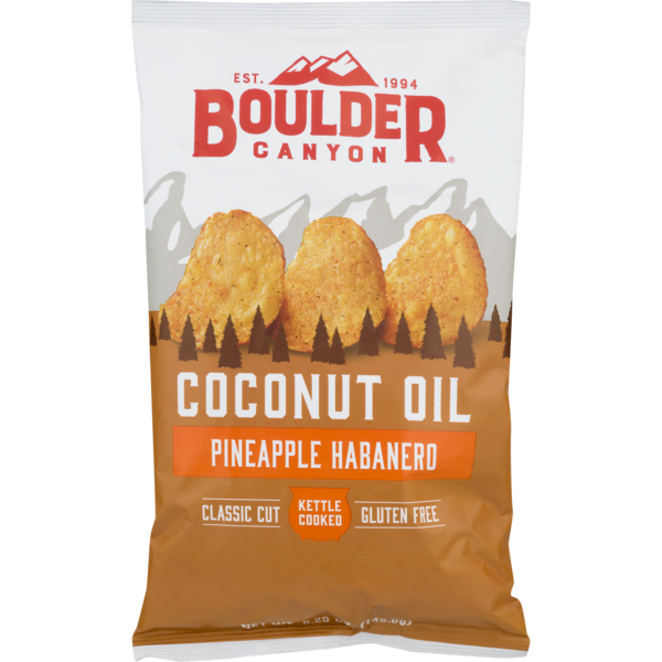Boulder Canyon Coconut Oil Pineapple Habanero 142g