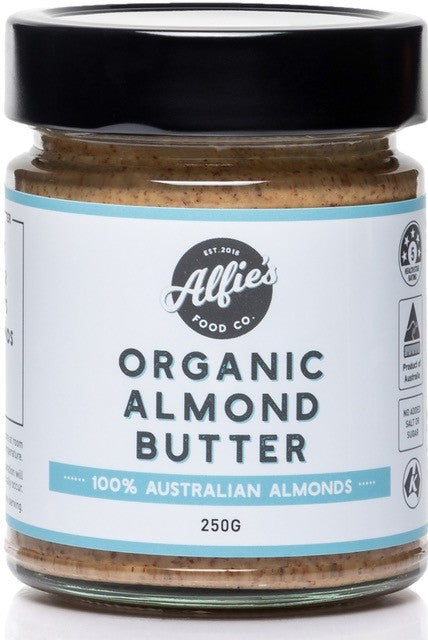 Alfie's Food Co. Organic Almond Butter 250g