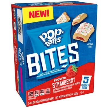 Pop Tarts Bites Frosted Strawberry 200g