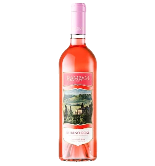 Rambam Italy Rubino Rose 750Ml