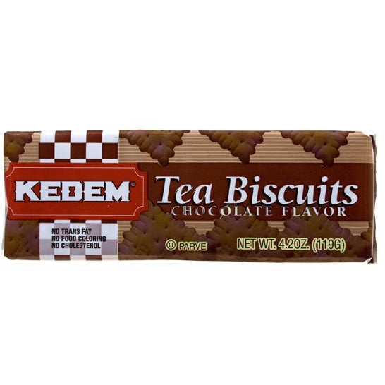 Kedem Tea Biscuits Chocolate 125G