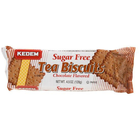 Kedem Tea Biscuits Chocolate Sugar Free 125G