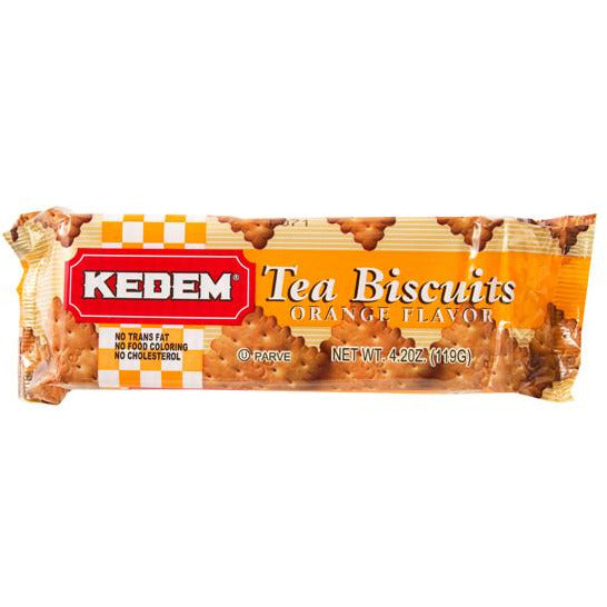 Kedem Tea Biscuits Orange Flavour 125G
