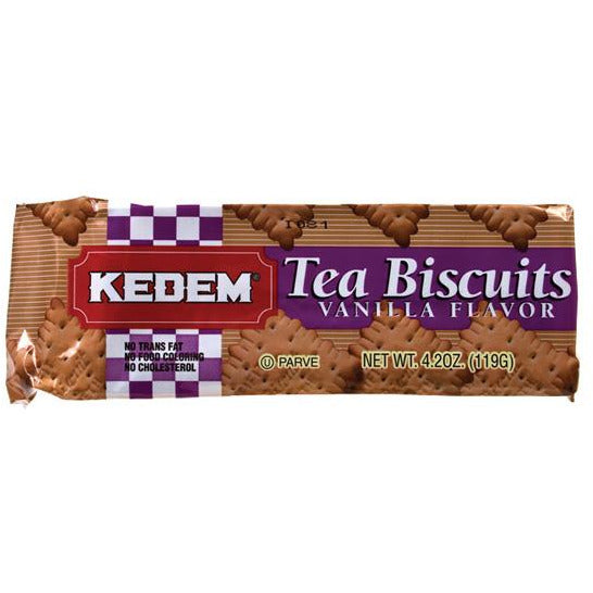 Kedem Tea Biscuits Vanilla 125G