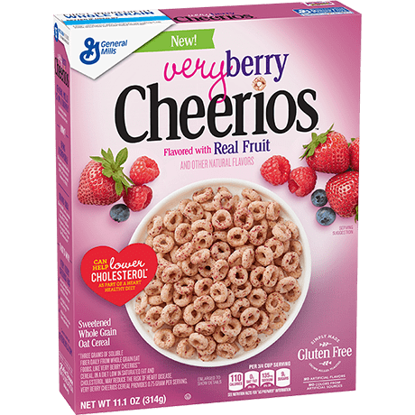 Very Berry Cheerios Gluten Free Cereal 309g
