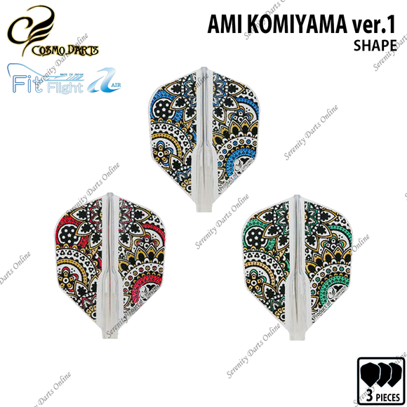 AMI KOMIYAMA ver.1 [FIT FLIGHT AIR SHAPE]