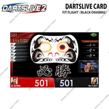 DARTSLIVE CARD SPECIAL PACK - FIT FLIGHT <BLACK DHARMA>
