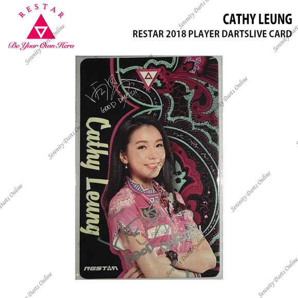 CATHY LEUNG - RESTAR DARTSLIVE CARD (AUTOGRAPHED)