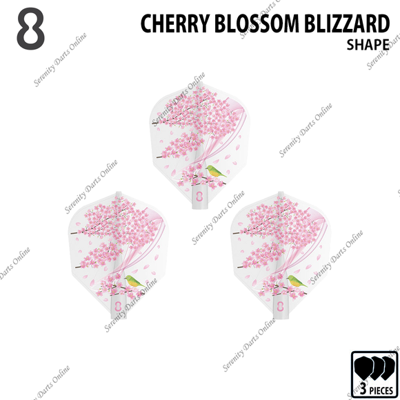 CHERRY BLOSSOM BLIZZARD [8 FLIGHT SHAPE]