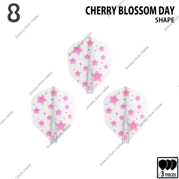 CHERRY BLOSSOM DAY [8 FLIGHT SHAPE]