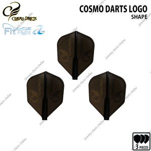 COSMO DARTS LOGO [FIT FLIGHT AIR SHAPE]