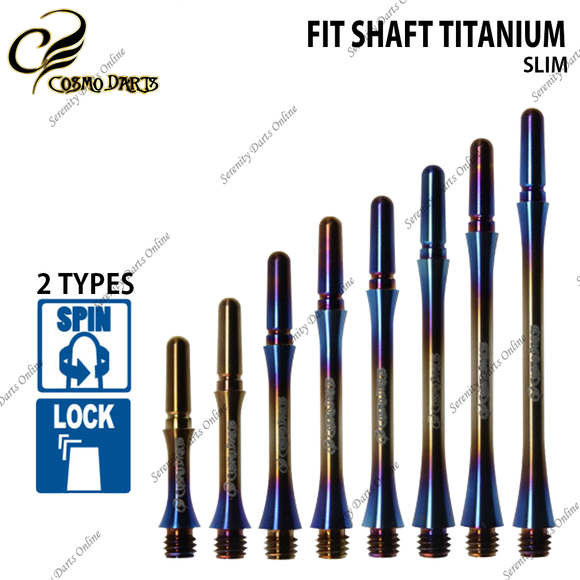 FIT SHAFT TITANIUM SLIM [BURNT COLOR] ‹ Pre-Order ›