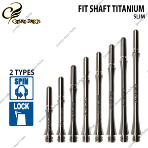 FIT SHAFT TITANIUM SLIM ‹ Pre-Order ›