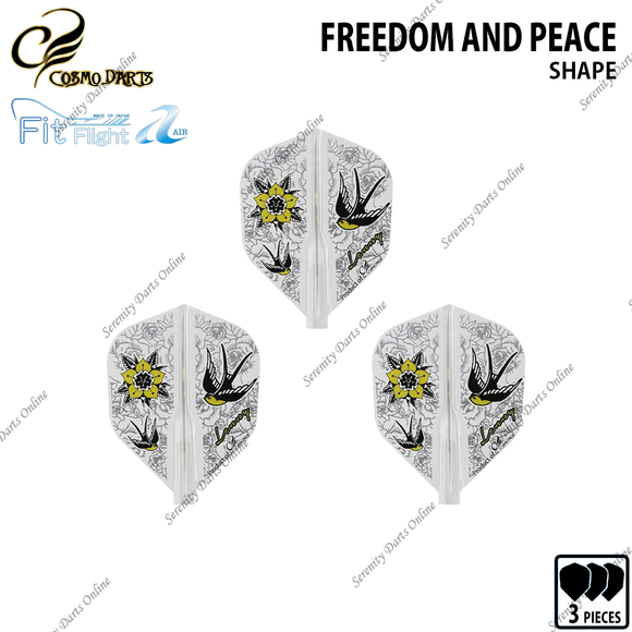 FREEDOM AND PEACE [FIT FLIGHT AIR SHAPE] • 2019 DESIGN CONTEST FIT FLIGHT •