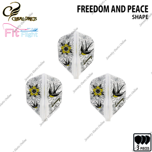 FREEDOM AND PEACE [FIT FLIGHT SHAPE] • 2019 DESIGN CONTEST FIT FLIGHT •