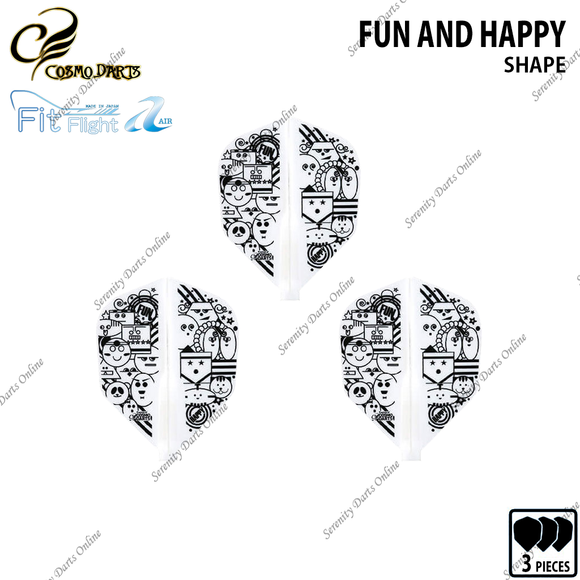FUN AND HAPPY [FIT FLIGHT AIR SHAPE] • 2019 DESIGN CONTEST FIT FLIGHT •
