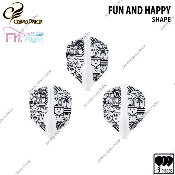 FUN AND HAPPY [FIT FLIGHT SHAPE] • 2019 DESIGN CONTEST FIT FLIGHT •