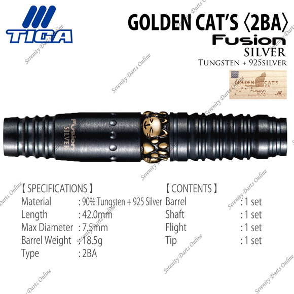 FUSION SILVER GOLDEN CAT'S 〈2BA〉