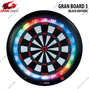 [READY STOCK] GRAN BOARD 3 ( BLUE/RED ) [BLACK EDITION]