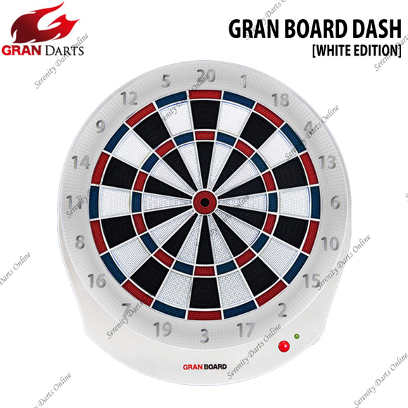 GRAN BOARD DASH ( BLUE/RED ) [WHITE EDITION]