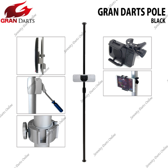 [PRE-ORDER + FREE DELIVERY] GRAN DARTS POLE (BLACK)