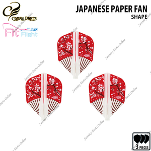 JAPANESE PAPER FAN [FIT FLIGHT SHAPE] • 2019 DESIGN CONTEST FIT FLIGHT •