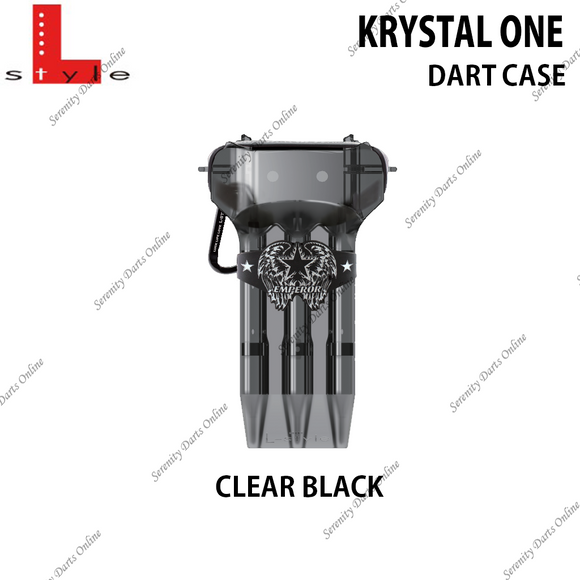 KRYSTAL ONE ( CLEAR BLACK )
