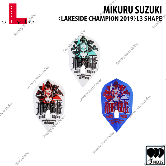 LAKESIDE CHAMPION 2019 - MIKURU SUZUKI [L3 SHAPE]