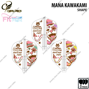 MANA KAWAKAMI [FIT FLIGHT SHAPE] • 2018 LIMITED EDITION •