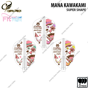 MANA KAWAKAMI [FIT FLIGHT SUPER SHAPE] • 2018 LIMITED EDITION •