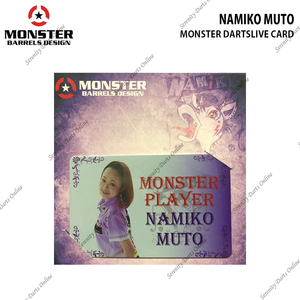 NAMIKO MUTO - MONSTER DARTSLIVE CARD