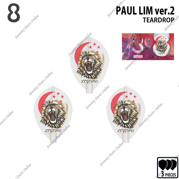 PAUL LIM ver.2 [8 FLIGHT TEARDROP]