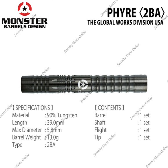 PHYRE - THE GLOBAL WORKS DIVISION USA 〈2BA〉