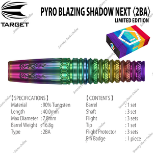PYRO BLAZING SHADOW NEXT - MITSUMASA HOSHINO 〈2BA〉•LIMITED EDITION•