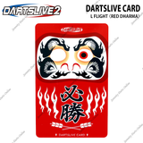 DARTSLIVE CARD SPECIAL PACK - L CHAMPAGNE FLIGHT <RED DHARMA>