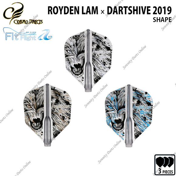 ROYDEN LAM [FIT FLIGHT AIR SHAPE] • 2019 LIMITED EDITION •