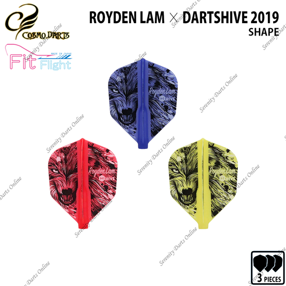 ROYDEN LAM [FIT FLIGHT SHAPE] • 2019 LIMITED EDITION •