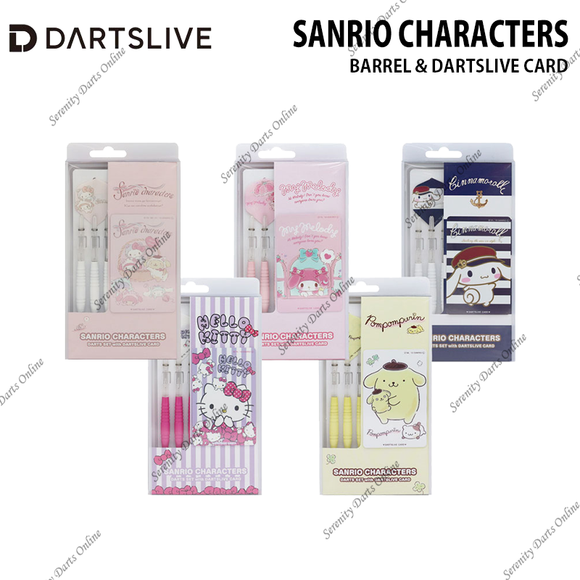 SANRIO CHARACTERS ver2 - BARREL & DARTSLIVE CARD •REGION EXCLUSIVE•