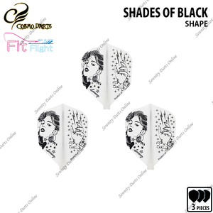 SHADES OF BLACK [FIT FLIGHT SHAPE] • COSMO DESIGN CONTEST •