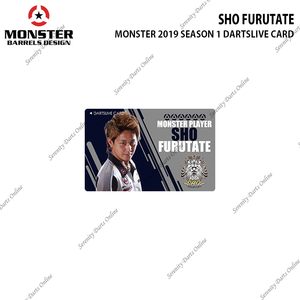 SHO FURUTATE - 2019 SEASON 1 DARTSLIVE CARD