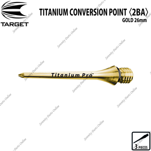 TARGET TITANIUM CONVERSION POINT 2BA - GOLD