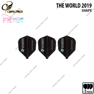 THE WORLD [FIT FLIGHT SHAPE] • 2019 LIMITED EDITION •