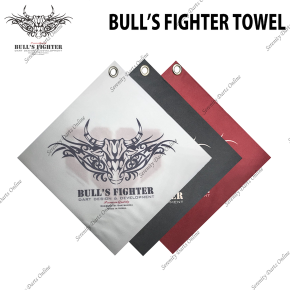 BULL'S FIGHTER HAND TOWEL